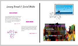 Luxury Brand & Social Media