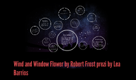 """robert frosts wind and window flower The wind asks for your attention to this story (""""forget your love, and list(en) to the love of these two – the wind and the flower"""") the frost had melted from the window and the bird was singing in the sun near the flower, when the wind saw this beautiful flower."""