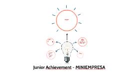 Junior Achievement - MINIEMPRESA