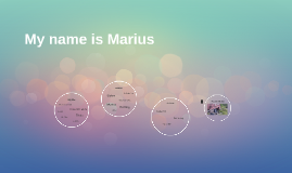 My name is Marius