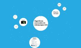 Algoritmos avanzados en videojuegos (I.A)