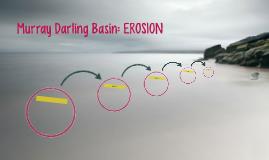 Murray Darling Basin: EROSION