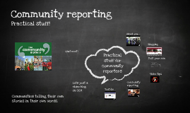 Copy of Community reporting