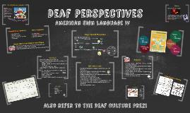 Deaf Perspectives