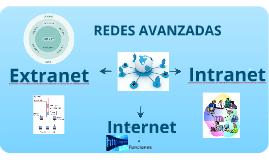 Copy of INTERNET, INTRANET,EXTRANET y REDES AVANZADAS