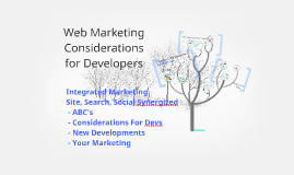 Copy of Web Marketing Considerations for Developers