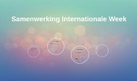 Samenwerking Internationale Week
