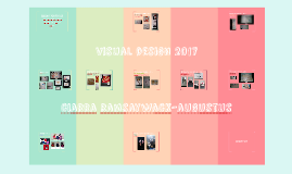 visual design portfolio 2017