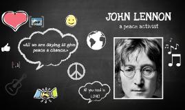 Copy of JOHN LENNON - Presentation