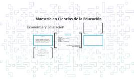 Economia y Educacion