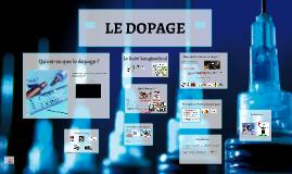 Copy of LE DOPAGE