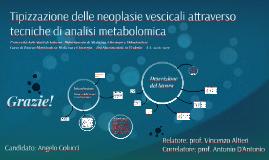 Tipizzazione delle neoplasie vescicali attraverso