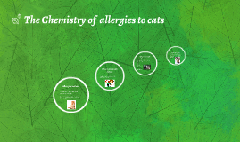 The Chemistry of  allergies to animals