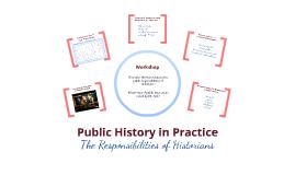 Public History in Practice