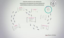 TERAPIA ASISTIDA CON ANIMALES:
