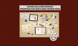 Copy of HISTORIA DE LA ROPA INTERIOR