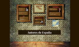 Autores de España