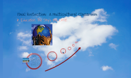 Final Reflection:  My Dream Multicultural Classroom