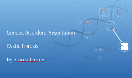 Genetic Disorders Presentation