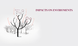 Copy of IMPACTS ON ENVIROMENTS