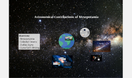 Astronomy Mesopotamia/Constellation Stuff