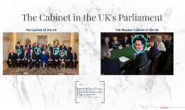 The Cabinet in the UK's Parliament