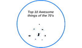 Top 10 Awesome things of the 70's