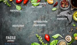Diseño instruccional del curso de cocina