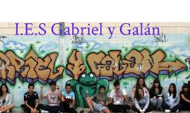 Copy of Copy of I.E.S Gabriel y Galán