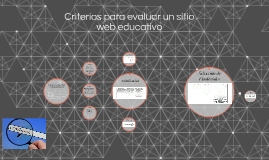 Criterios para evaluar un sitio web educativo