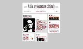 Mafia: organizzazione criminale