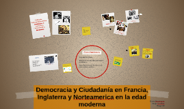 Democracia y Ciudadania en Francia, Inglaterra y Norteameric
