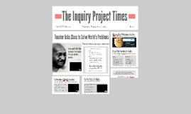 The Inquiry Project Times