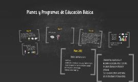 Copy of Planes de Educación Básica