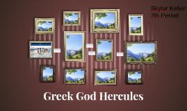 Greek God Hercules