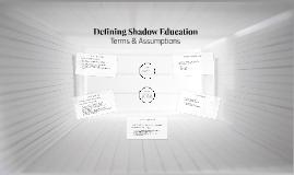 Shadow Education