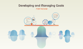 Copy of Developing and Managing Goals