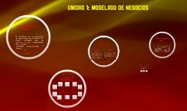 Unidad 2: Modelado de Negocios