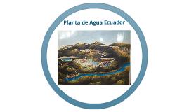 Presentación Planta de Agua Ecuador