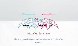 Wicca vs. Satanism
