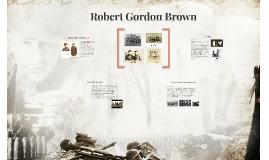 Robert Gordon Brown