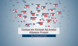 Türkiye'nin Küresel Ağ Analizi Altyapısı Projesi