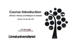 1KV101: Course Introduction