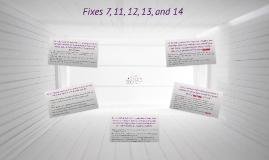 Copy of Fixes
