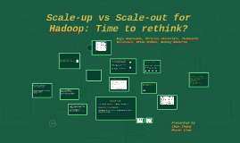 Scale-up vs Scale-out for Hadoop: Time to rethink?
