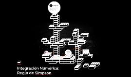 Integracion Numerica: Regla de Simpson.