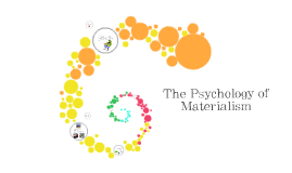 psychology of materialism
