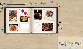 스크랩북-My food style
