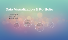 Data Visualization & Portfolio
