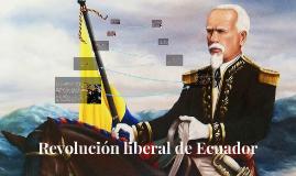 Revolución liberal de Ecuador
